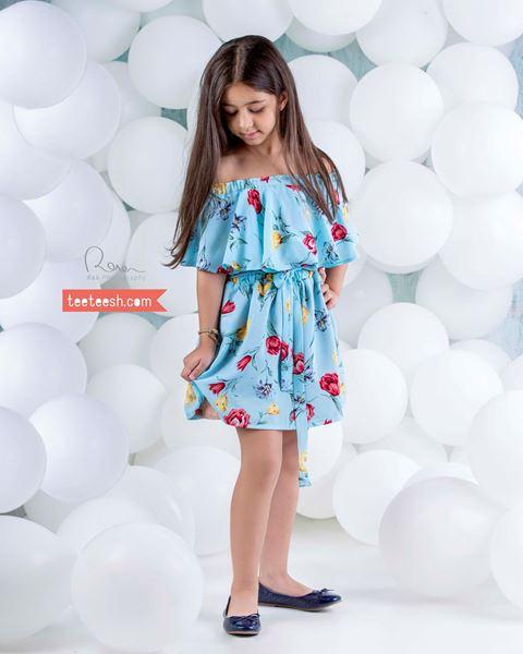تصویر پیراهن دخترانه teeteesh